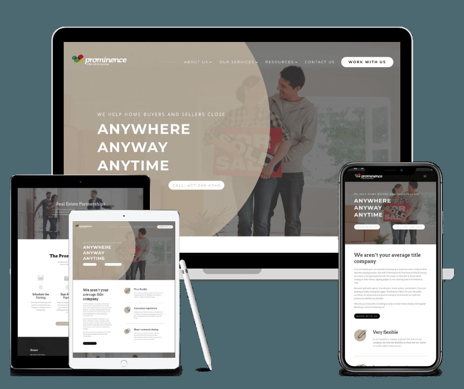 Orlando Title Company Web Design